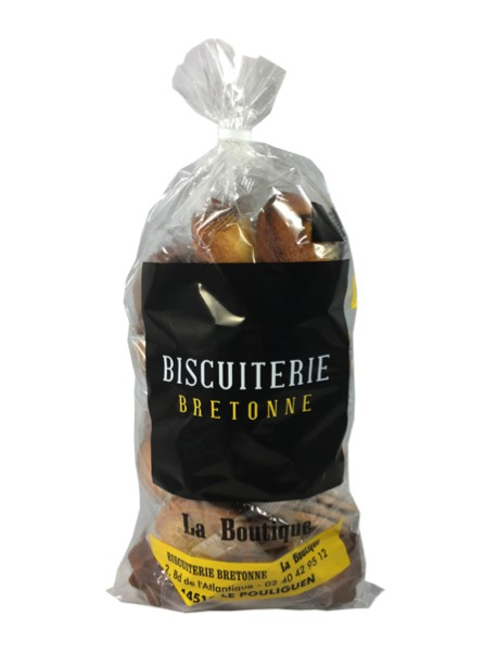 """Assortiment Palmiers """"Kerys"""", quatre-quarts  """"Legoff"""", marques  sélectionnées par la Biscuiterie Bretonne la Boutique"""