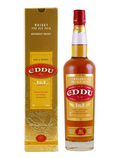 Eddu Gold - Whisky de Bretagne, pur blé noir – Distillerie des Menhirs