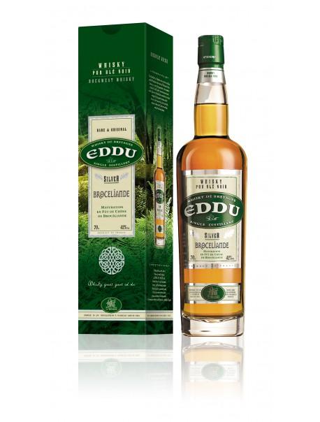Eddu Silver Brocéliande - Whisky de Bretagne, pur blé noir – Distillerie des Menhirs