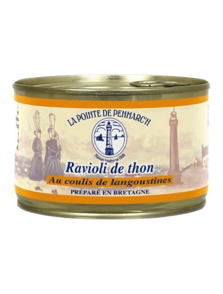 Ravioli de thon au coulis de langoustines  – La Pointe de Penmarc'h