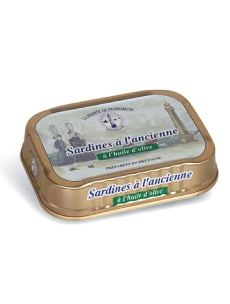Sardines à l'ancienne à l'huile d'olive – La Pointe de Penmarc'h