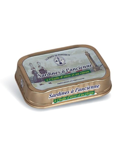 Sardines à l'ancienne à l'huile d'olive et au citron – La Pointe de Penmarc'h