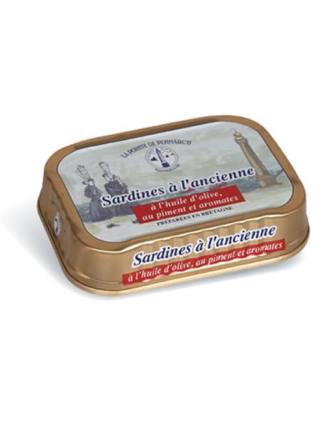 Sardines à l'ancienne à l'huile d'olive, au piment et aromates  – La Pointe de Penmarc'h