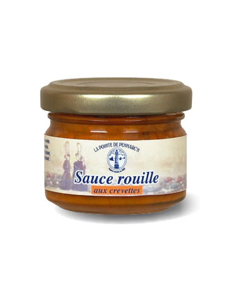 Sauce rouille aux crevettes  –  La Pointe de Penmarc'h