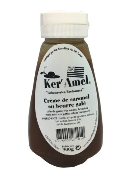 Crème de caramel au beurre salé, 300 g - « Ker'Amel » du Val André.