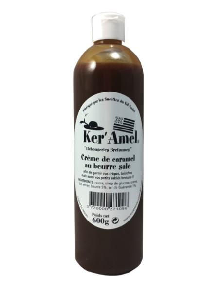 Crème de caramel au beurre salé 600 g - « Ker'Amel » du Val André.