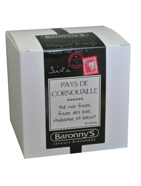 Thé « Pays de Cornouille » Baronny's – Saveurs Bretonnes (sachets)