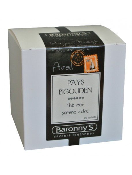 Thé « Pays Bigouden » Baronny's – Saveurs Bretonnes (sachets)