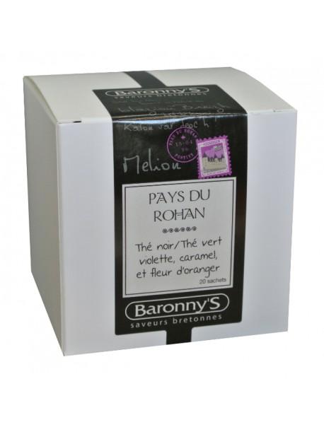 Thé « Pays de Rohan » Baronny's – Saveurs Bretonnes (sachets)