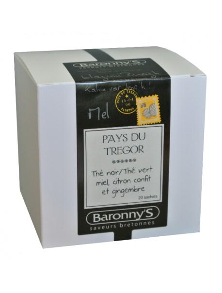 Thé « Pays du Trégor » Baronny's – Saveurs Bretonnes (sachets)