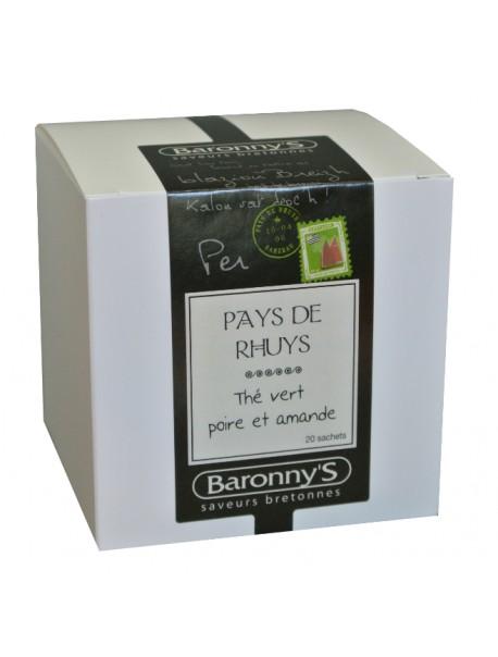 Thé « Pays de Rhuys » Baronny's – Saveurs Bretonnes (sachets)
