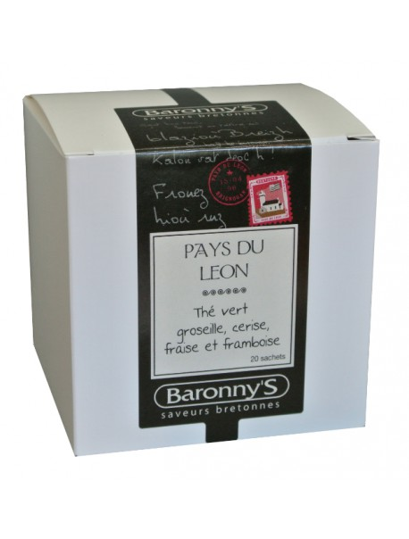 Thé « Pays du Léon » Baronny's – Saveurs Bretonnes (sachets)