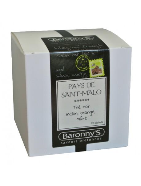 Thé « Pays de Saint Malo » Baronny's – Saveurs Bretonnes (sachets)