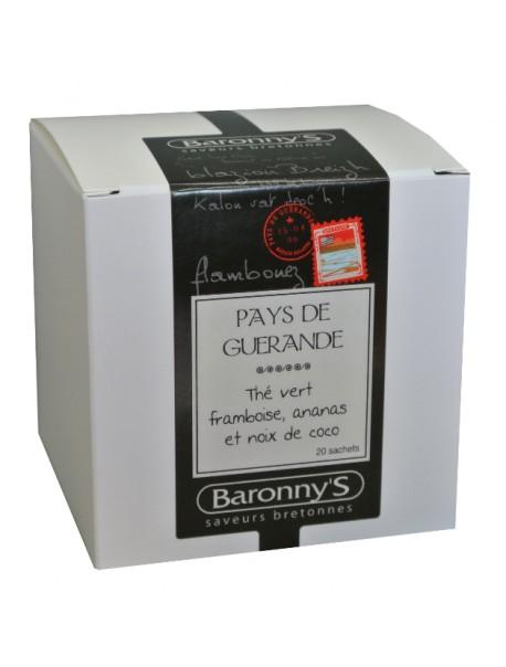 Thé « Pays de Guérande » Baronny's – Saveurs Bretonnes (sachets)