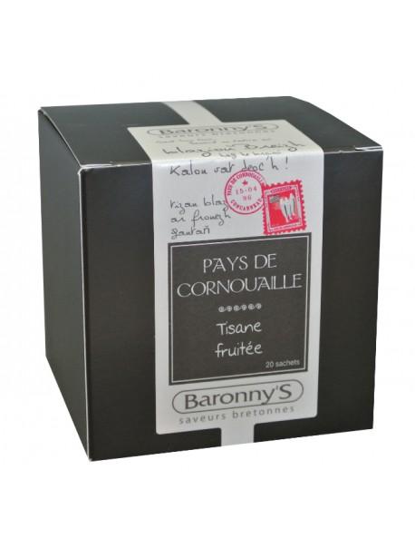 Tisane « Pays de Cornouaille » Baronny's – Saveurs Bretonnes (sachets)