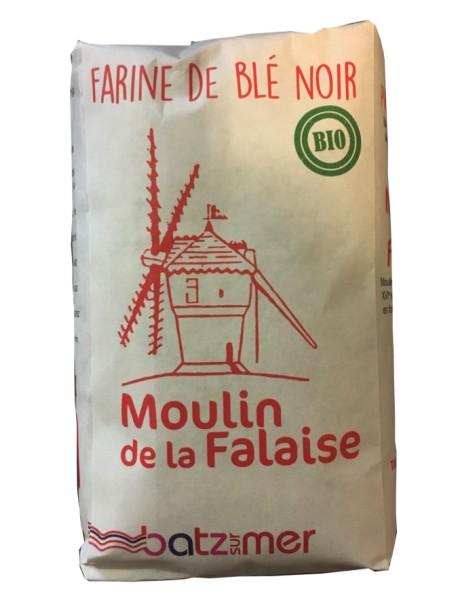 Farine de blé noir BIO – marque « Moulin de la falaise »