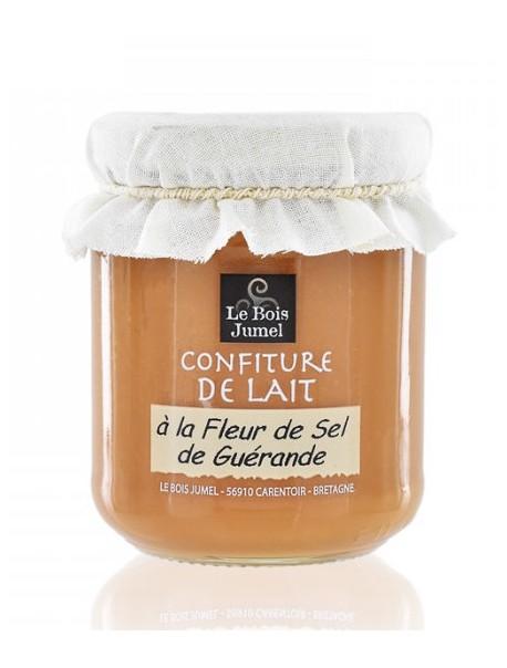 Confiture de lait à la fleur de sel de Guérande – Marque « Bois Jumel »