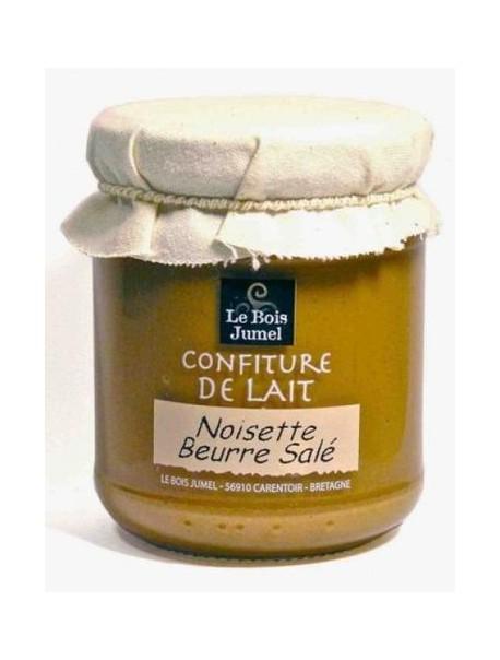 Confiture de lait noisette beurre salé – Marque « Bois Jumel »