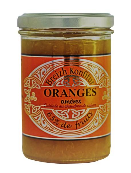 Confiture d'oranges amères (allégée en sucre), marque « Breizh Konfitur »