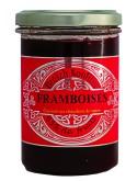 Confiture de framboises (allégée en sucre), marque « Breizh Konfitur »