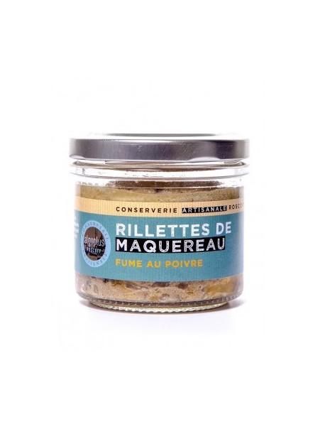 Rillettes de maquereau fumé au poivre, marque « Algoplus »