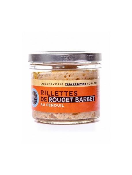 Rillettes de rouget barbet au fenouil, marque « Algoplus »