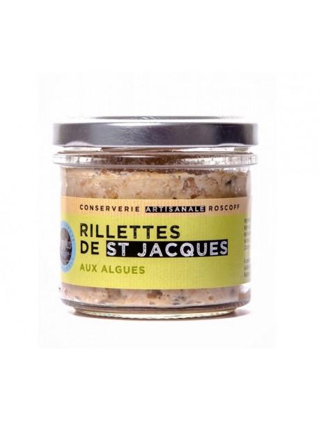 Rillettes de Saint-Jacques aux algues, marque « Algoplus »