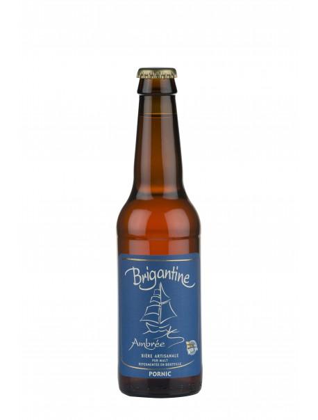 Bière « La Brigantine ambrée ».