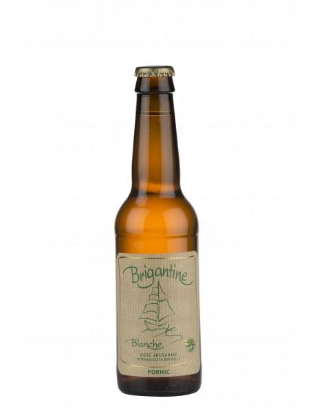 Bière « La Brigantine blanche ».