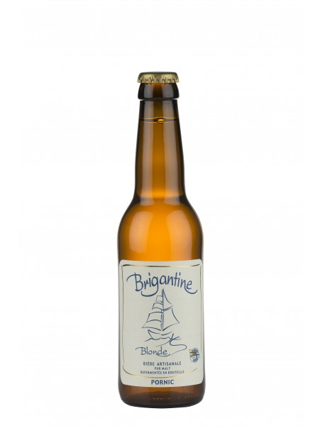 Bière « La Brigantine blonde ».