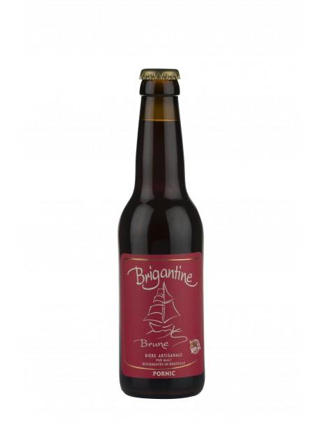 Bière « La Brigantine brune ».