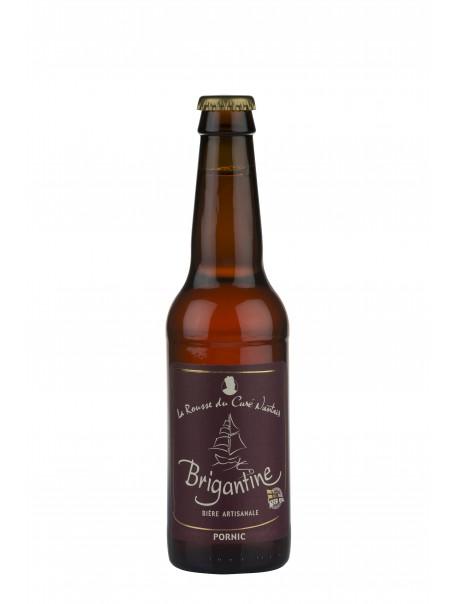 Bière « La Brigantine rousse du curé nantais ».