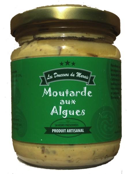 Moutarde aux algues : marque « Les douceurs du marais »