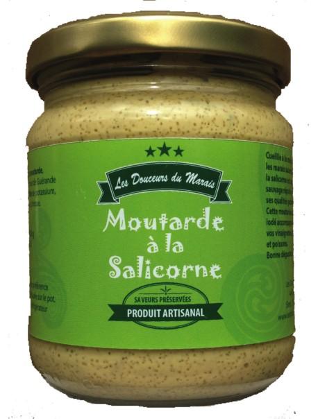 Moutarde à la salicorne : marque « Les douceurs du marais »
