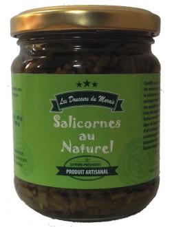Salicornes au naturel : marque « Les douceurs du marais »