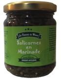 Salicornes en marinade : marque « Les douceurs du marais »